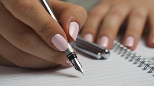 Person writing a Will