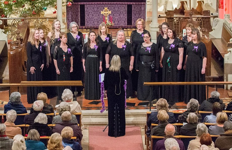 Military Wives Choir performing at last years concert