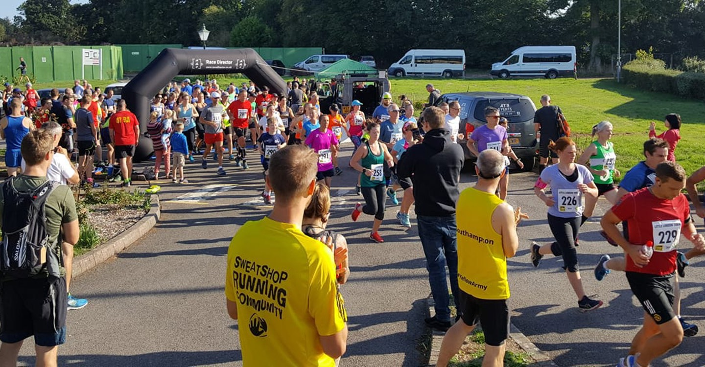Andover Trail Marathon starting at Enham Trust