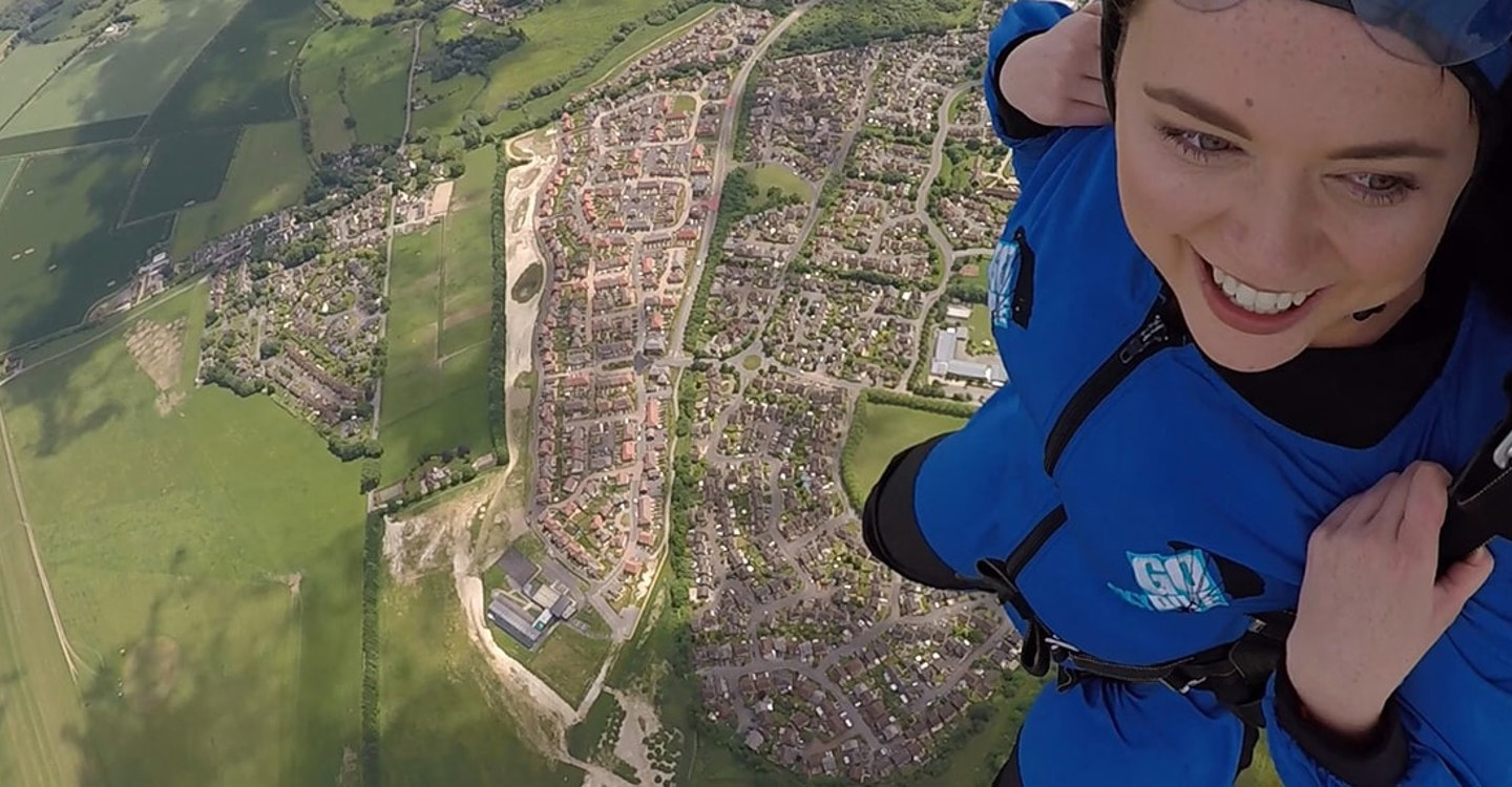 Daredevils raise over £2000 by skydiving 10,000ft for Enham Trust